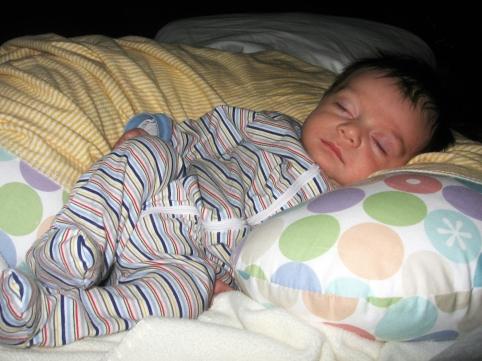 nicholas sleeping tiny