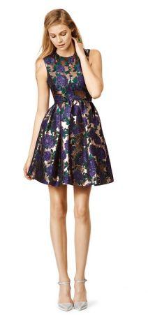 msgm blue blossom dress